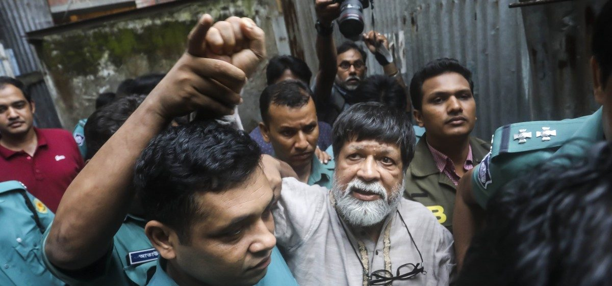 On Day 100, 34 Eminent South Asians Write to Bangladesh PM for Shahidul Alam's Release