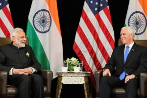 Modi and Pence Meet in Singapore, Discuss Counter-Terrorism and Cooperation