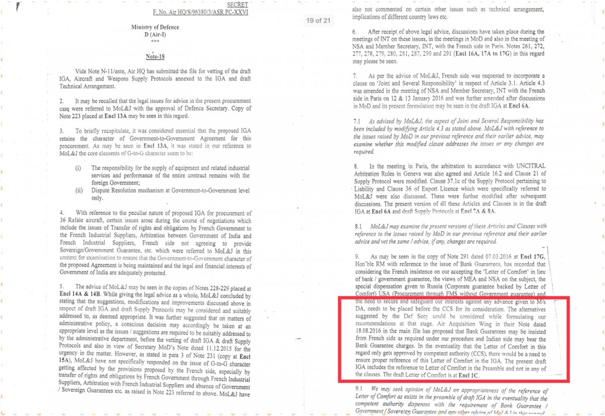In Secret Rafale Papers, More Evidence of How Modi Government Short-Circuited Procedures