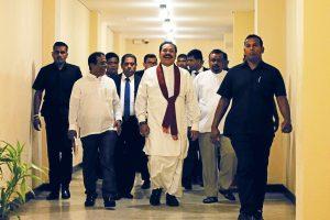 Sri Lankan Ministers' Salaries Halted by Parliament to Pressure Disputed Rajapaksa Govt