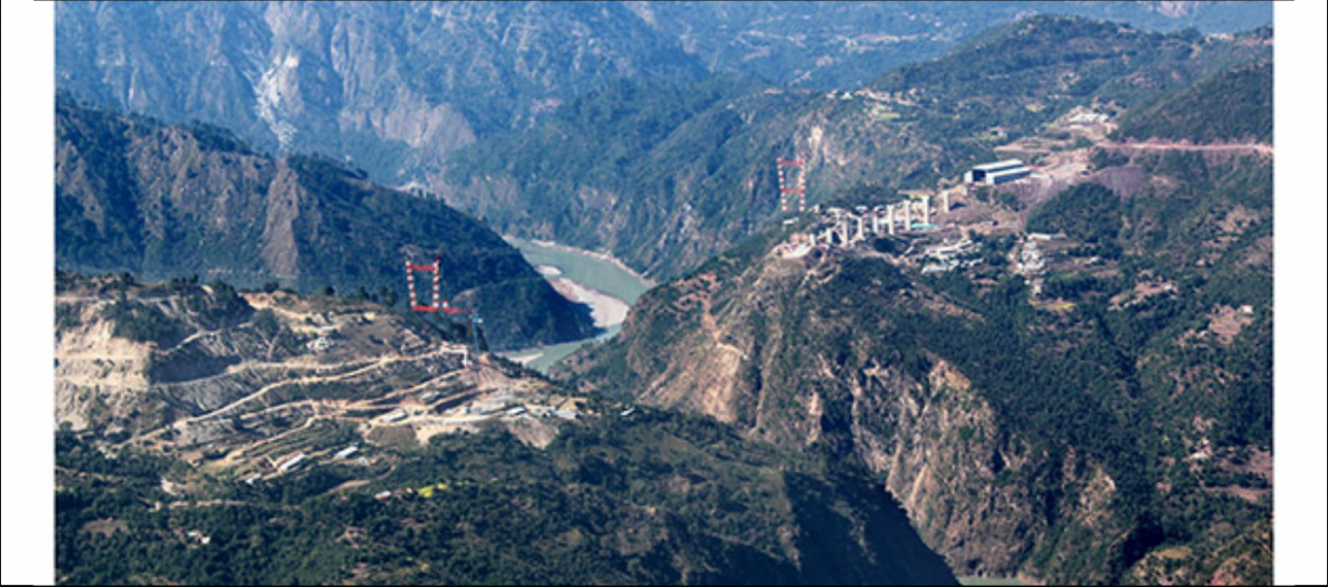 Construction on Iconic Chenab Rail Bridge Stops, Kashmir Rail Link Project Delayed Further