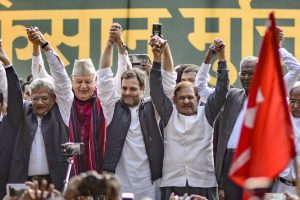Opposition Leaders Unite on Farmers' Platform, Promise to Make Their Voices Heard