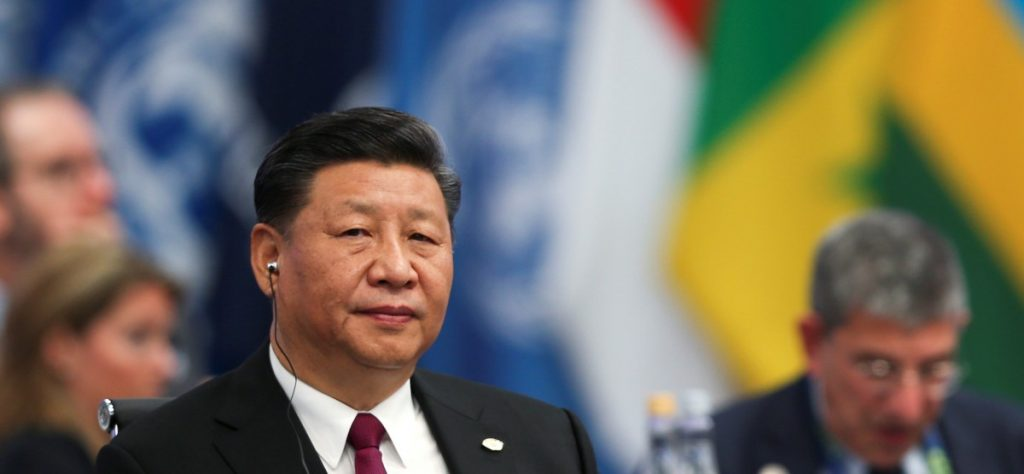 Chinese President Xi Jinping attends the opening of the G20 leaders summit in Buenos Aires, Argentina November 30, 2018. Credit: REUTERS/Sergio Moraes