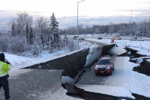 Powerful Quake Rattles Anchorage in Alaska; Roads, Bridges Hardest Hit