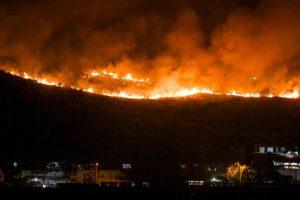 Massive Fire Breaks out Near Mumbai's Aarey Colony Forest