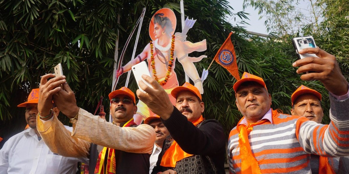 In Photos: As the 2019 Elections Near, the Ram Temple Card Is Played Again
