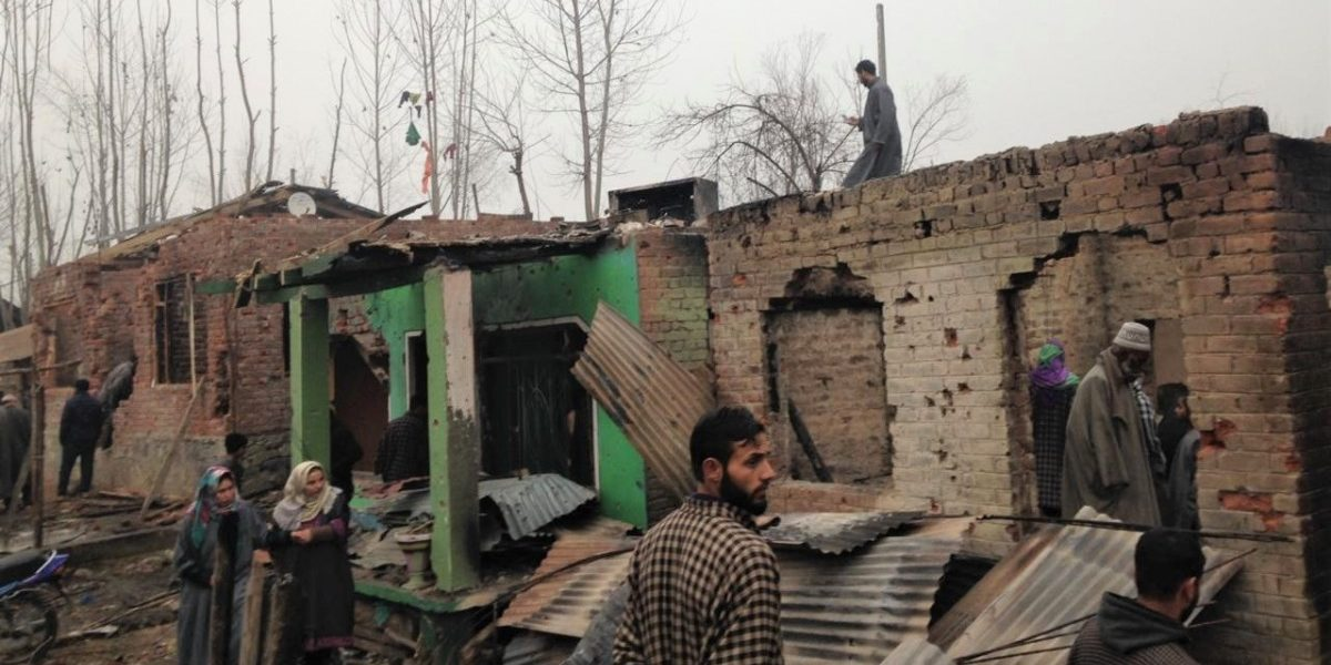 'Not Even Cows Were Spared,' Laments Owner of Home Destroyed in Srinagar Gunfight