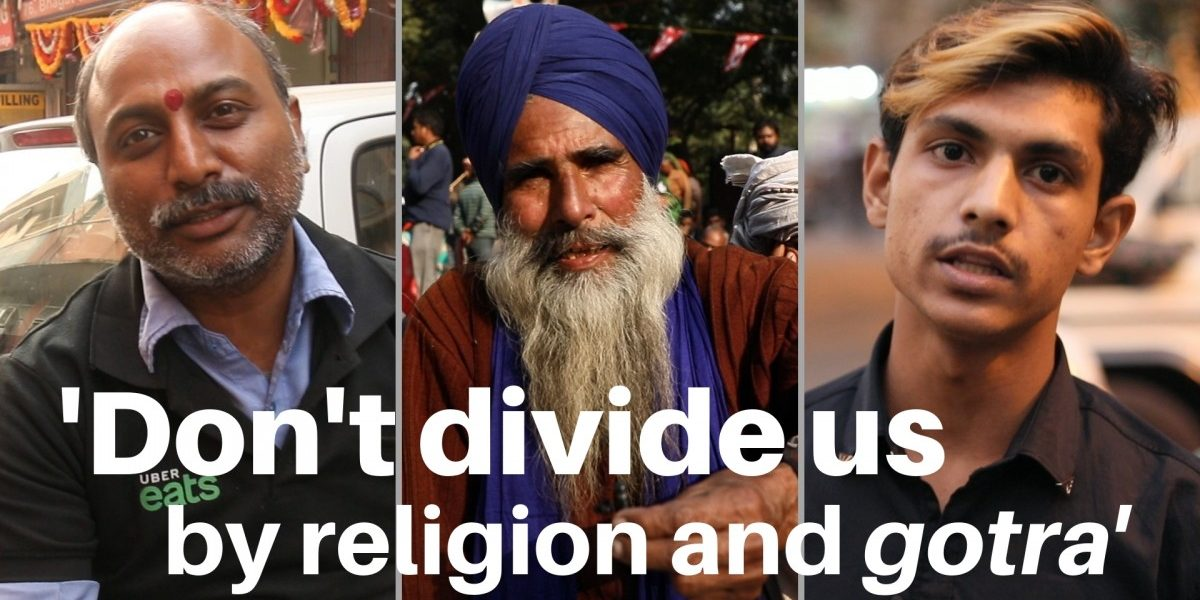 Watch | 'Don't Divide Us by Religion and Gotra': Citizens' Message to Netas