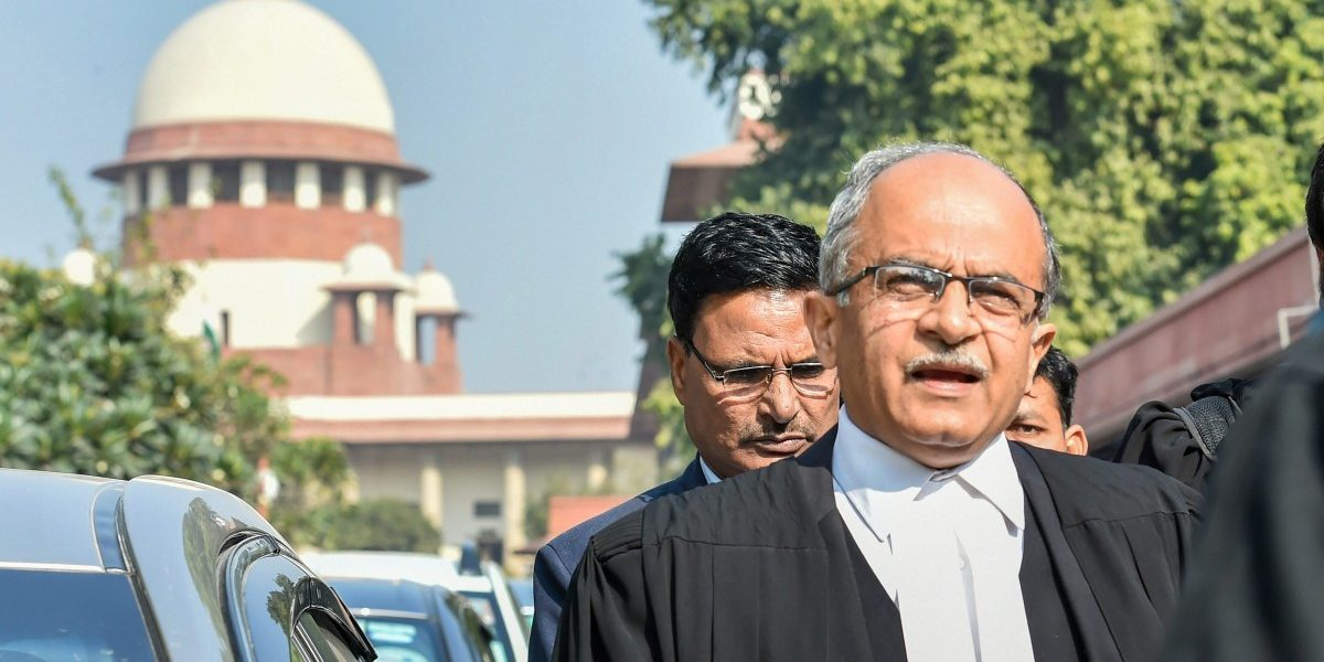 Contempt Petition 'Clear Attempt to Intimidate, Silence' Prashant Bhushan: Activists