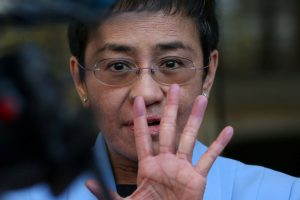 In Philippines' War on Media, Maria Ressa 'Holds the Line'