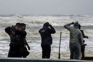 One Killed as Cyclone Phethai Storms Through Andhra Pradesh
