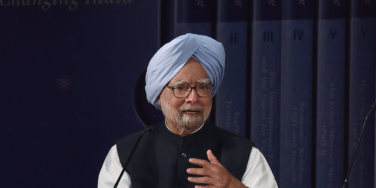Modi Govt's 'Mala Fide' Doctrine Behind Economic Slowdown: Manmohan Singh
