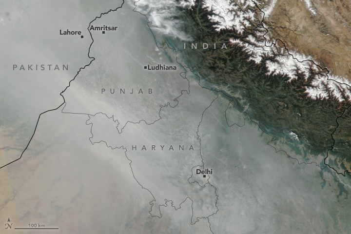 Haze Could be Fuelling South Asia's Warming
