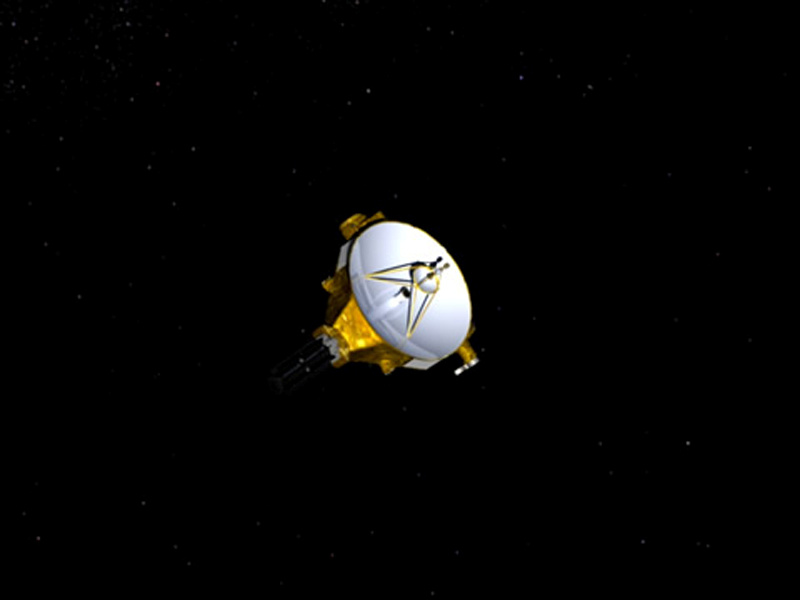 FILE PHOTO: An artist's impression of NASA's New Horizons spacecraft, currently en route to Pluto, is shown in this handout image provided by NASA/JHUAPL. Credit: REUTERS/NASA/Johns Hopkins University Applied Physics Laboratory/Southwest Research Institute/Handout