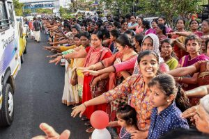 A Day After 'Women's Wall of Resistance', Two Women Enter Sabarimala Shrine