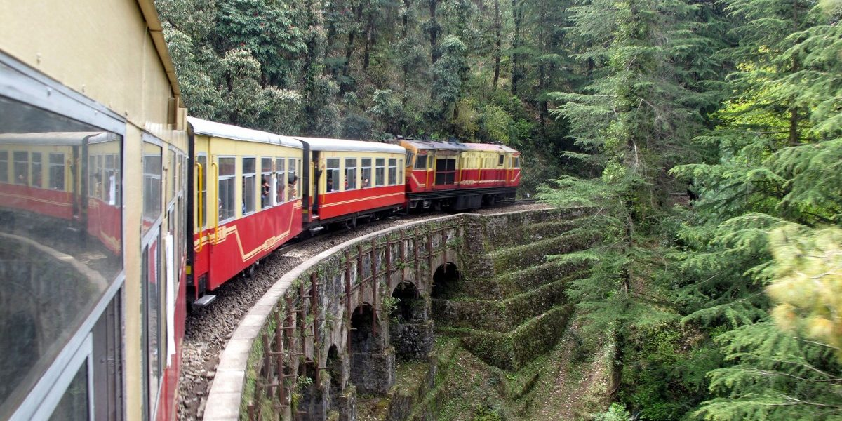 Sparks Fly Over Plans to Electrify the Scenic Kalka-Shimla Railroad