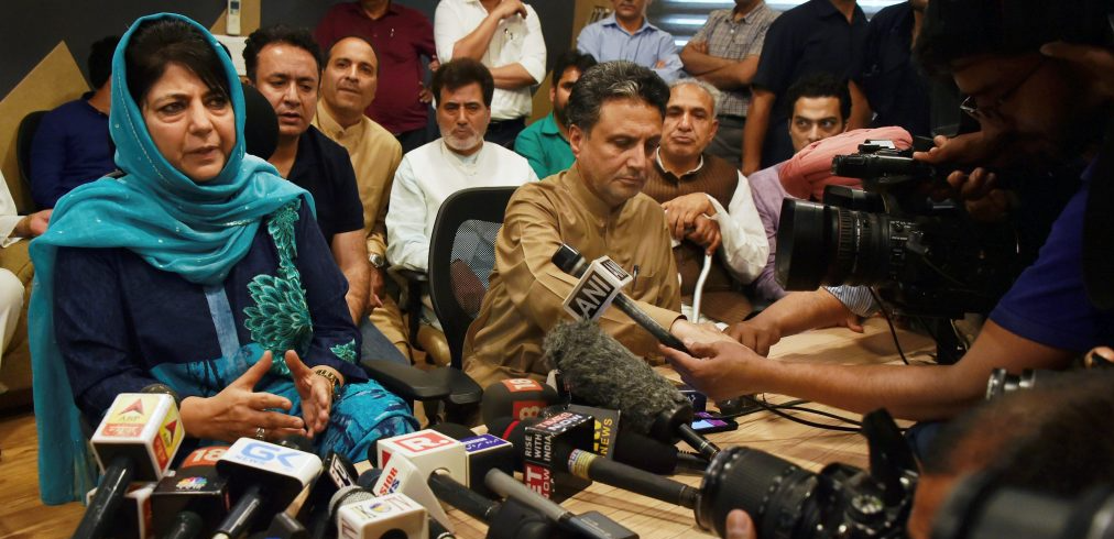 Will Mehbooba Spill the Beans on PDP-BJP Alliance at Upcoming South Kashmir Rally?