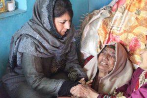 Mehbooba's Visits to Kin of Slain Rebels a Political Gimmick: TopHizbul Militant