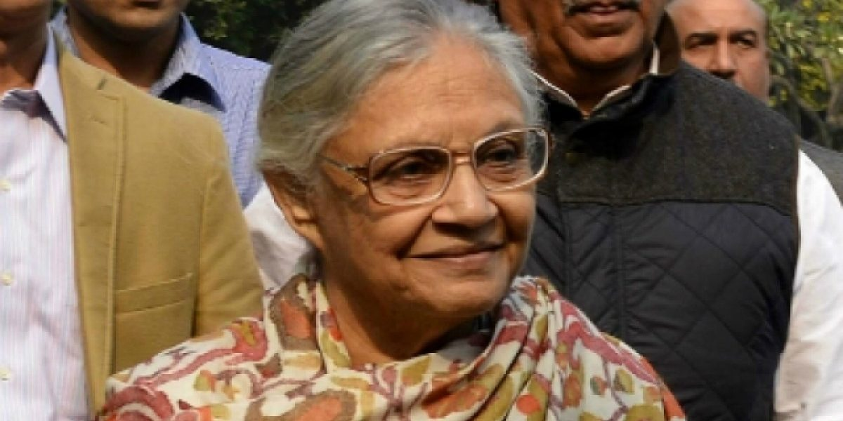 Sheila Dikshit Appointed as President of Delhi Congress