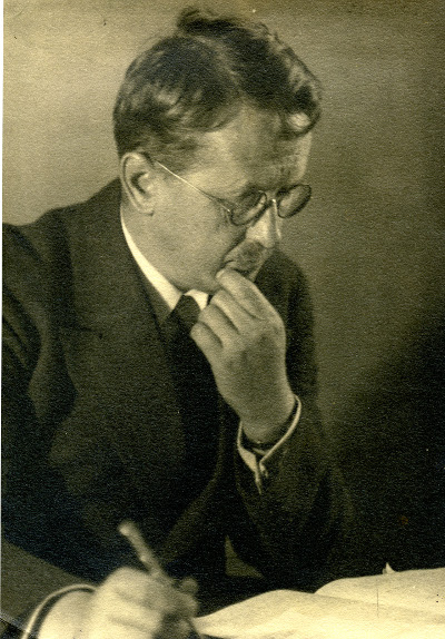 Hermann Weyl. CreditL Shelby White and Leon Levy Archives Center, IAS Princeton
