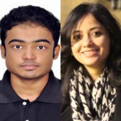 John Sebastian and Faiza Rahman