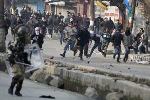 'Showered With Pellets After Raising Camera': Four Photojournalists Injured in Shopian