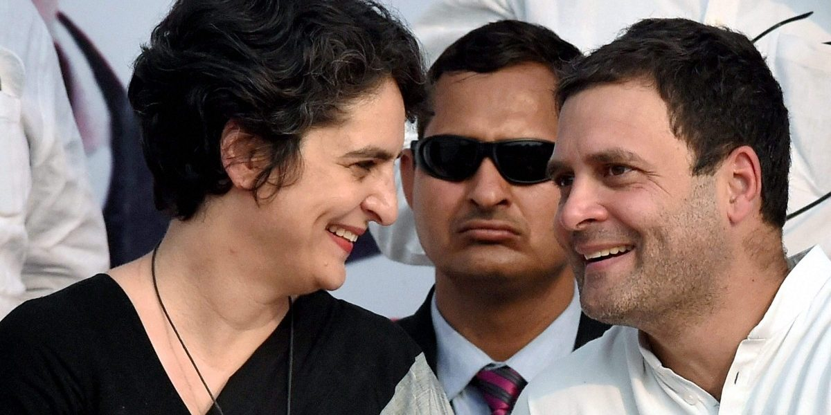 With Priyanka Gandhi's Induction, Rahul Proves He Is Also a Pragmatist