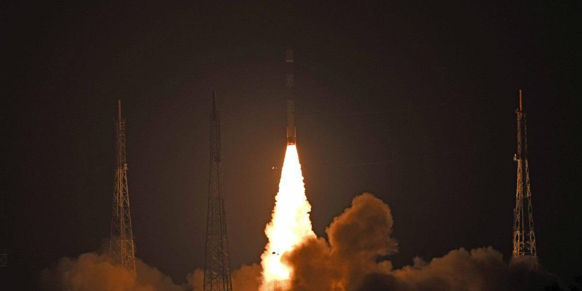 India successfully launches PSLV-C44 mission