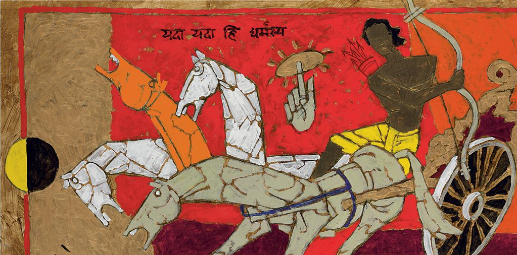 The Gita and Gandhi's Decision Against Violence