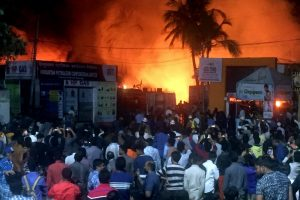 Fire at Hyderabad Exhibition Guts 200 Stalls; Traders Blame Organisers