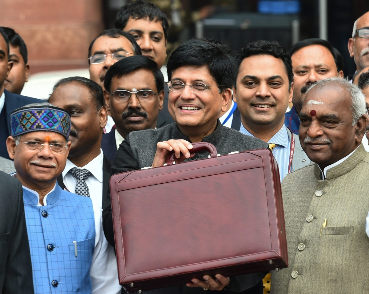 Budget 2019, Budget 2019 highlights, Budget 2019 India, Budget 2019 India date, Budget 2019 live, Budget 2019 speech live, Budget 2019 updates today, Budget 2019-20, Budget 2019-20 live, Budget speech, Cheaper dearer items, economy, finance minister piyush goyal, fiscal deficit, income tax slab 2019, Income tax slabs, Income tax slabs 2019-20, India, India Union Budget 2019-20, Indian Budget 2019, Interim Budget 2019 live, List of Cheapest items, List of Costliest items, List of new trains, Live updates, Narendra Modi, Piyush Goyal, Railway budget, Union Budget 2019, Union Budget 2019 live, Union Budget 2019-20, Union Budget 2019-20 live, Union Budget Highlights, आम बजट, बजट 2019