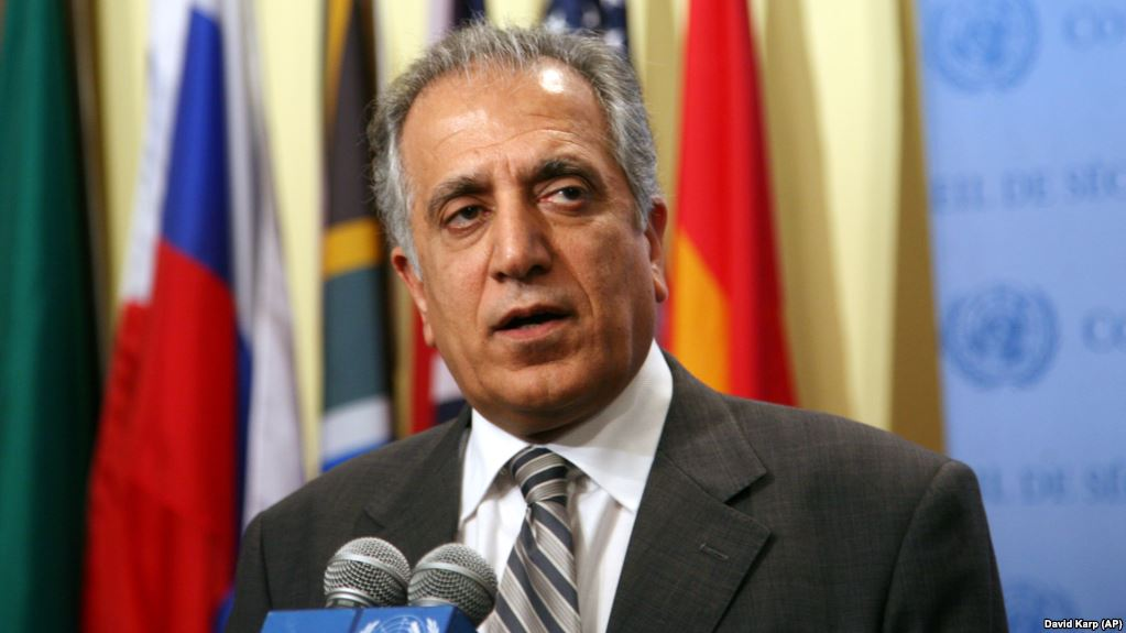 No timetable for USA  withdrawal from Afghanistan: Khalilzad