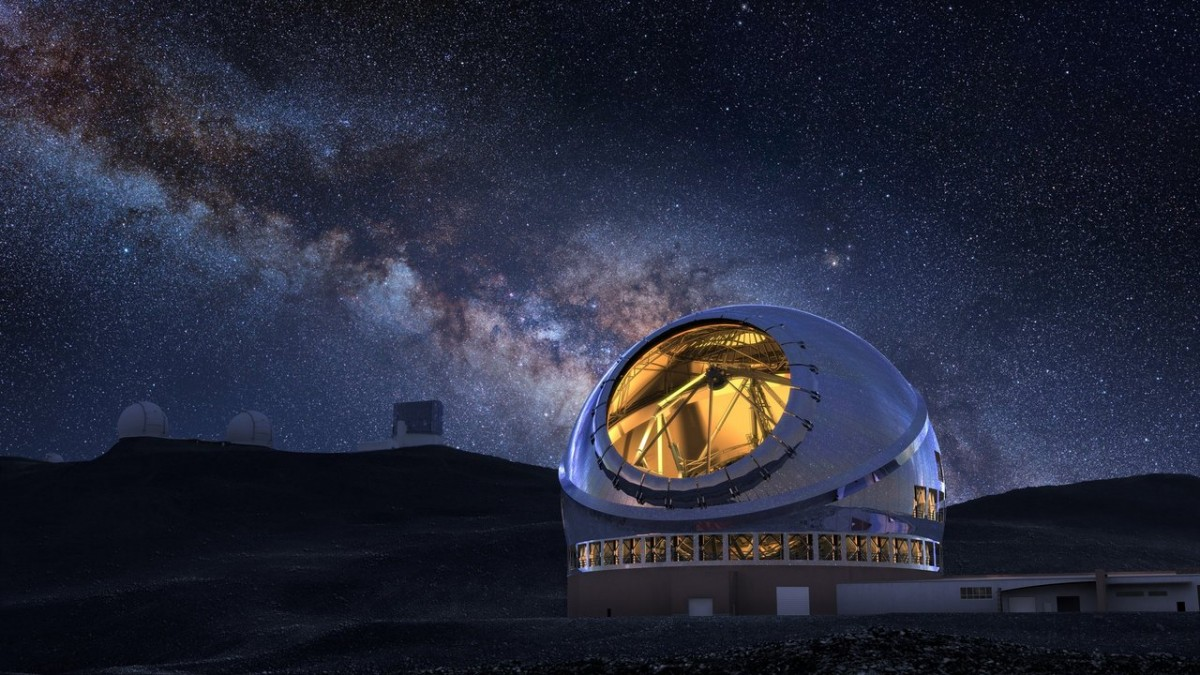 Thirty-Metre Telescope, Thirty Meter Telescope, Roque de los Muchachos Observatory, Canary Islands, Hanle, Ladakh, Indian Astronomical Observatory, Department of Science and Technology, Mauna Kea,