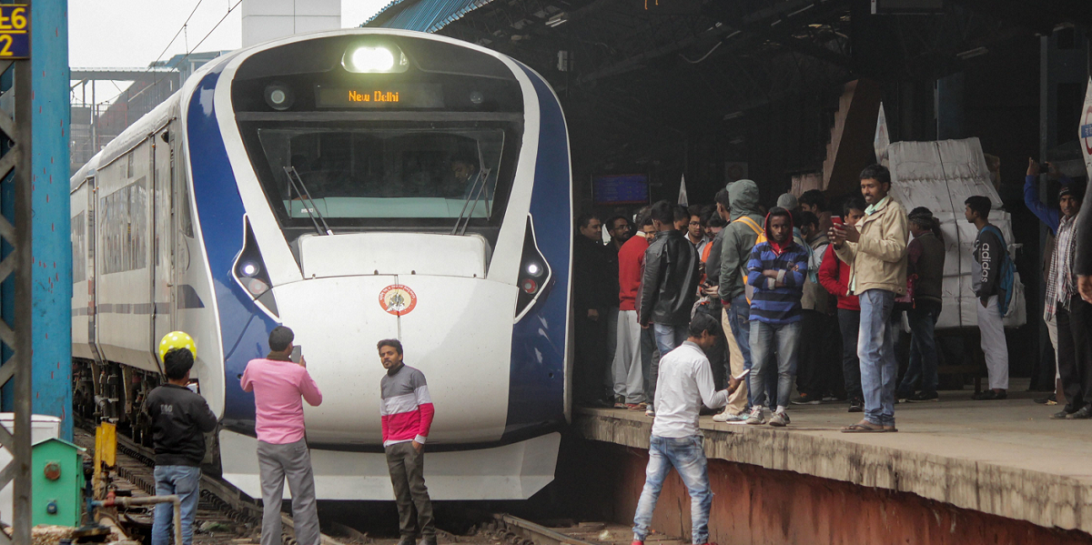 Brake Failure Halts Vande Bharat Express On Day After Launch