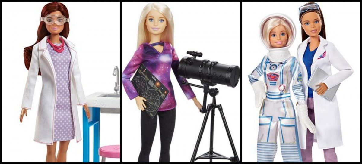 Why Mattel's Astrophysicist Barbie Is Really the Same Problems in New Clothes