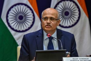 Foreign Secretary Gokhale Begins Two Day Visit to China