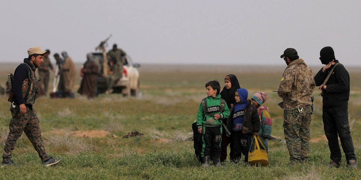 Mass grave containing dozens of women found in Syria's Baghouz, says SDF