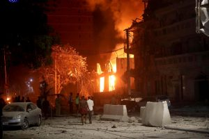 Battle Rages in Mogadishu as Hotel Attack Death Toll Nears 30