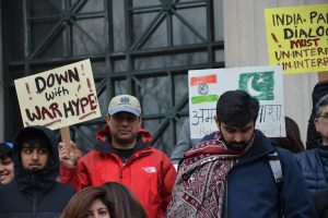 At Boston March, Protestors Urge India, Pak to Maintain Peace