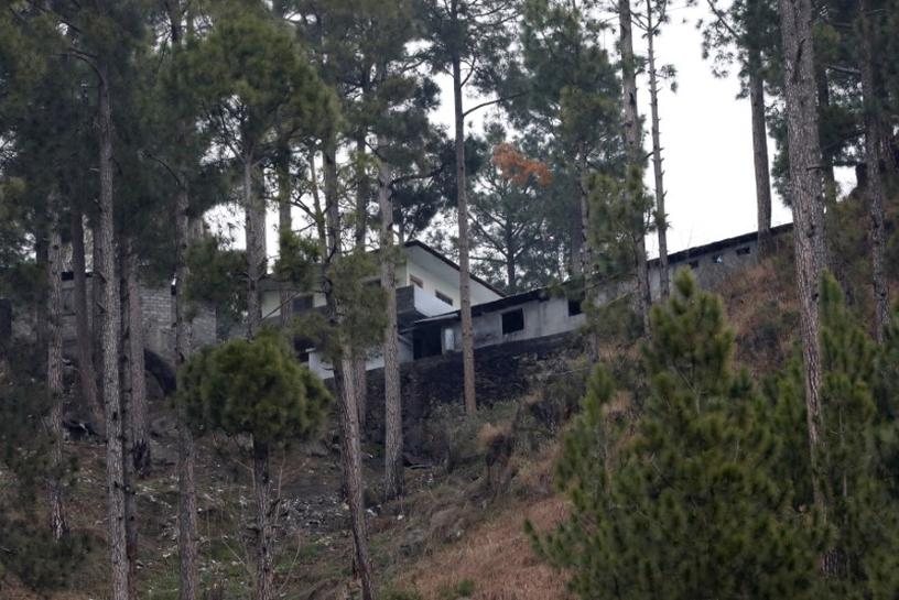 A general view of a building, which according to residents was a madrasa (religious school) is seen near the site where Indian military aircrafts struck on February 26, according to Pakistani officials, in Jaba village, near Balakot, Pakistan, March 7, 2019. Credit: Reuters/Akhtar Soomro
