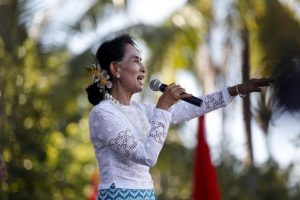 Suu Kyi to 'Defend National Interest' at Genocide Hearings in Hague