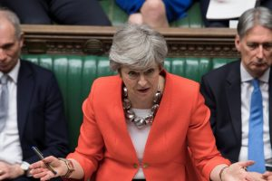 UK Lawmakers Reject Theresa May's Brexit Deal for the Second Time