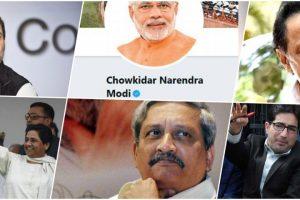 #PollVault: From Comedy on 'Chowkidar' to Condolences on Manohar Parrikar