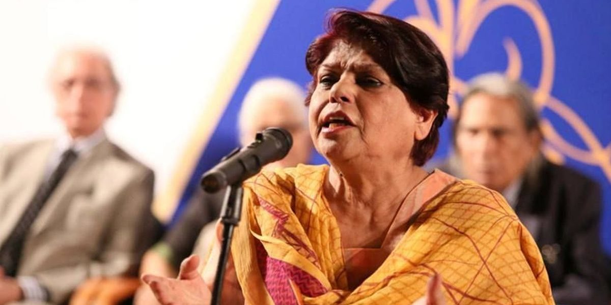 'Kishwar Naheed Must Live': In Defence of the Urdu Poet