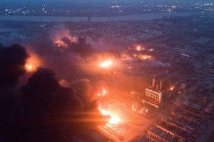 Chinese Chemical Plant Explosion Kills 47, Leaves Hundreds Injured
