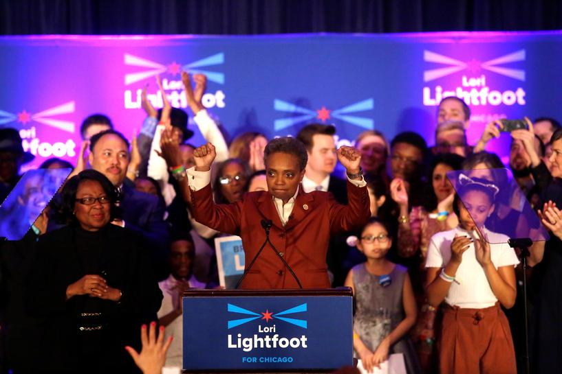 In Historic Vote, Chicago Elects Black, Gay Woman as Mayor