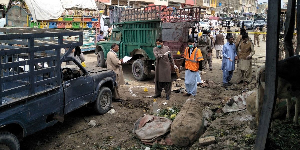 Bomb Blast in Pakistan's Quetta Kills 16