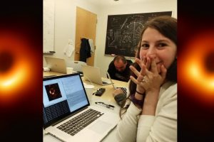 Katie Bouman Helped Create the Black Hole Image. You Know What Followed.