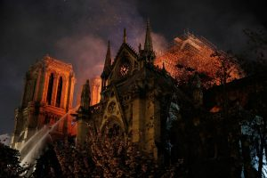 Major Fire Guts Historic Notre-Dame Cathedral in Paris