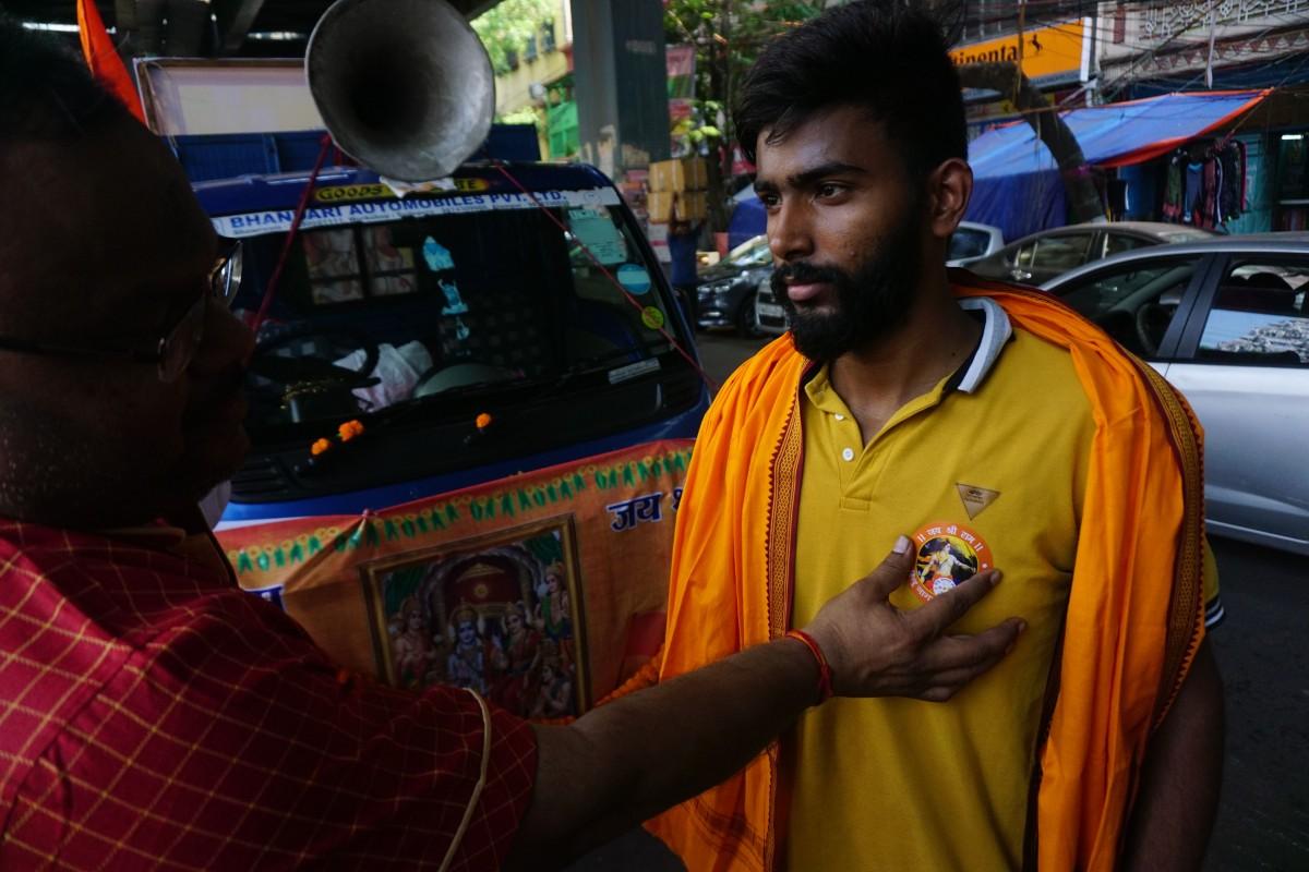 The Hindu Jagarn Manch in Burra Bazar. Credit: Shome Basu